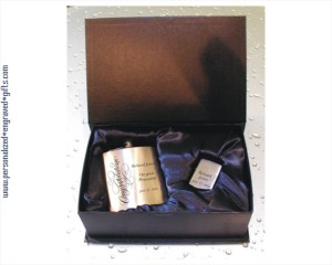 engraved flask and zippo gift set_large