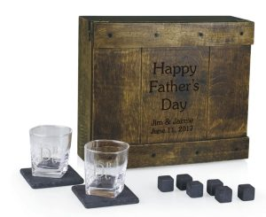 Engraved Whiskey Gift Set