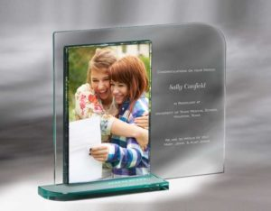 Engraved Match Day Glass Picture Frame