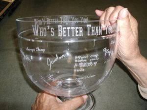 Engraved Bowl with Signatures